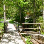 Brücke zur Hütte